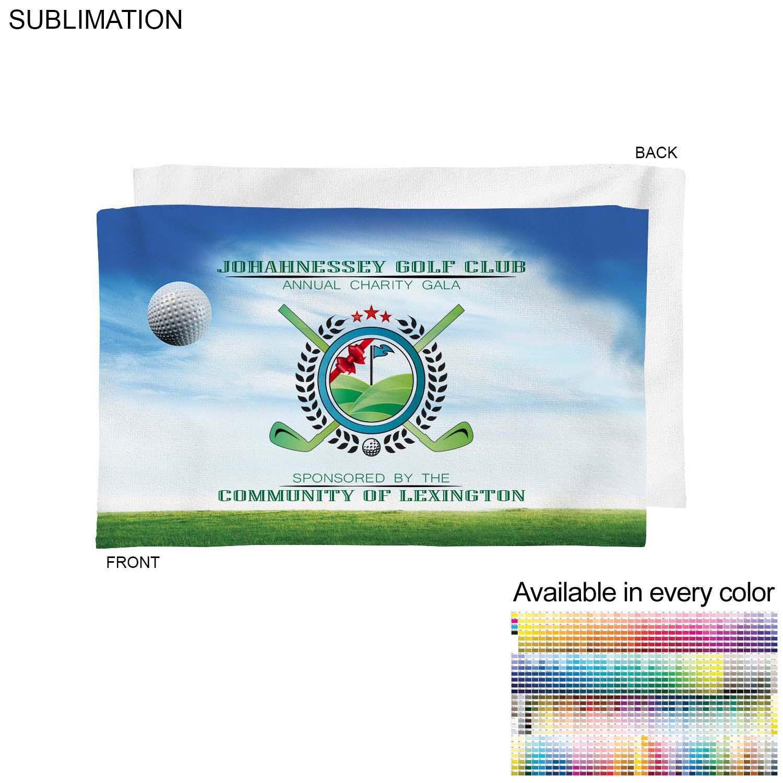 Velour Towel, 12x18,  SU628, Full Colour Imprint