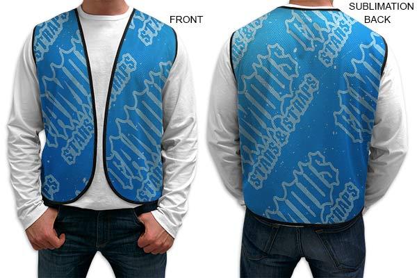 Sublimated Mesh Vest - Full Colour Imprint (#SU249)