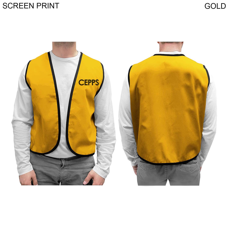 Twill Supermarket Vest, 1 Colour Imprint (#PR252)