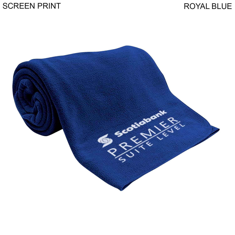 Classic Fleece Blanket 40x60, 1 Colour Imprint (#PR274)