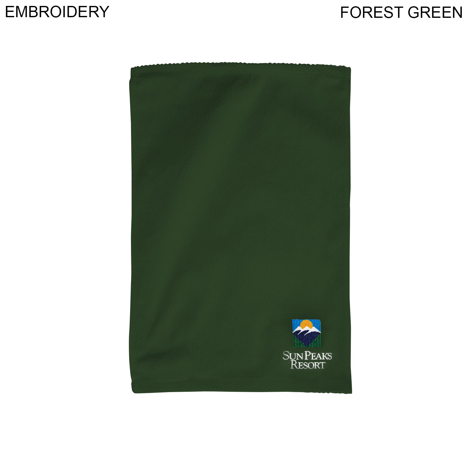 Terry Towel, 12x18,  EM368, Embroidered Logo