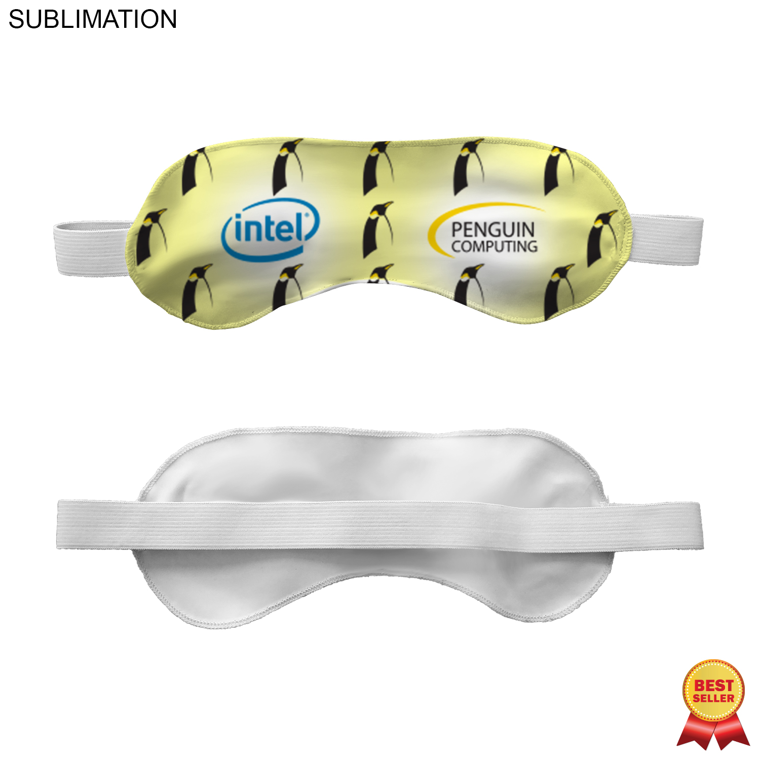 Sublimated Silken Eye Mask - Full Colour Imprint (#SU226)