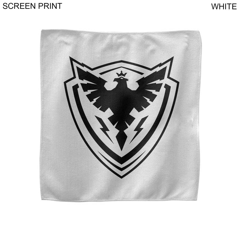 Microfiber Youth SkateTowel, 12x12,  PR206-3, 1 Colour Imprint