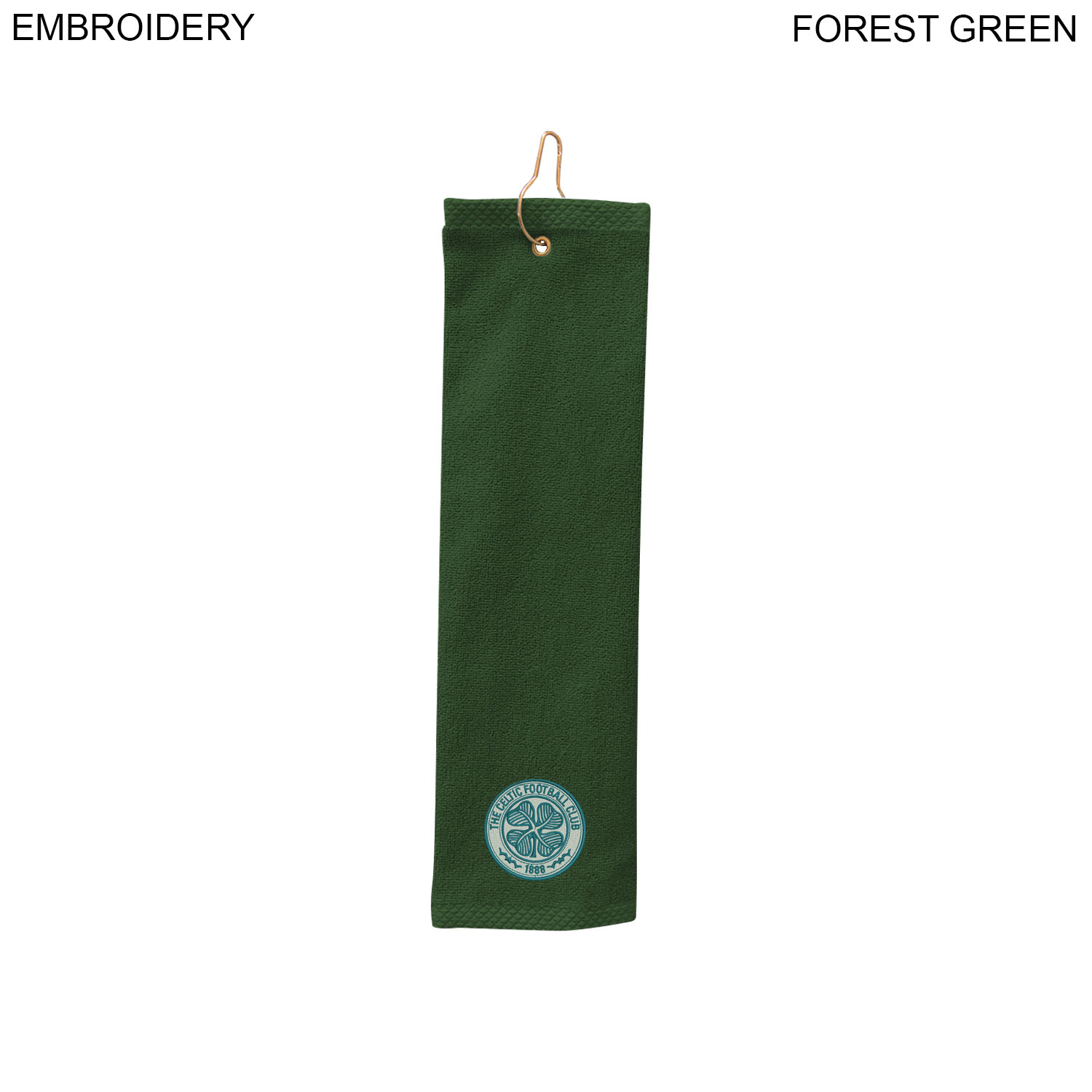 Terry Golf Towel 5x18, Embroidered (#EM368-2)