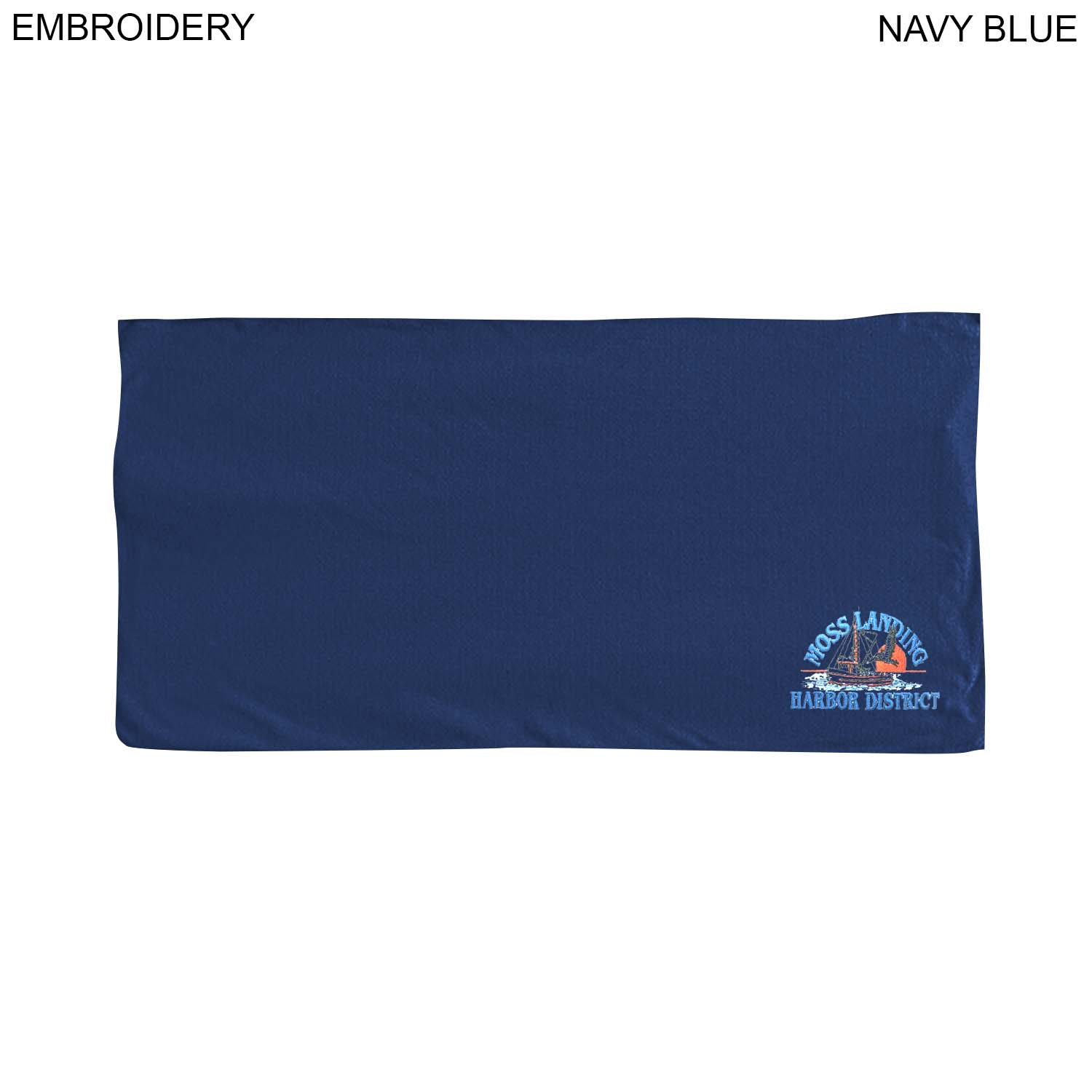 Microfiber Terry Towel 30x60, Embroidered (#EM210C)