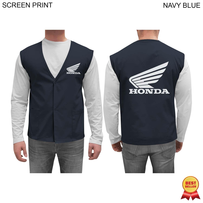 Twill Staff / Clerk Vest, 1 Colour Imprint (#PR243)