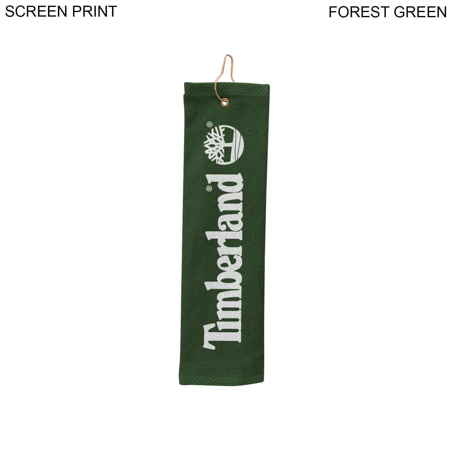Terry Golf Towel 5x18, 1 Colour Imprint (#PR368-2)