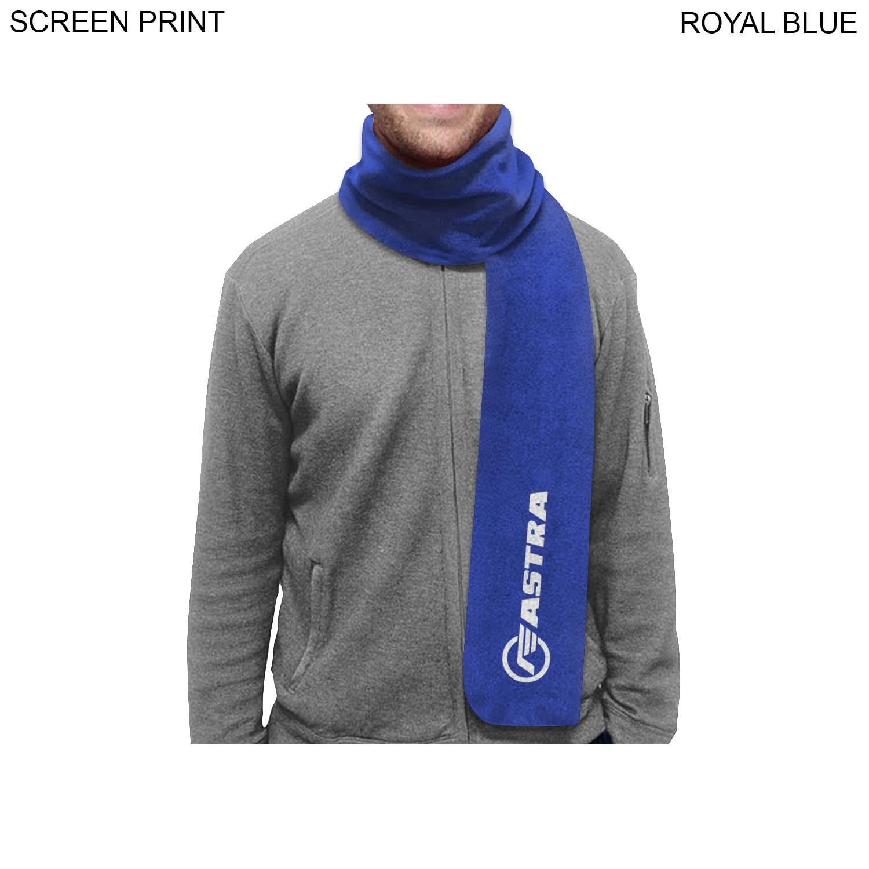 Urban Fleece Scarf, 6x60,  PR182, 1 Colour Imprint