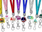 Custom Printed Rhinestone Lanyards