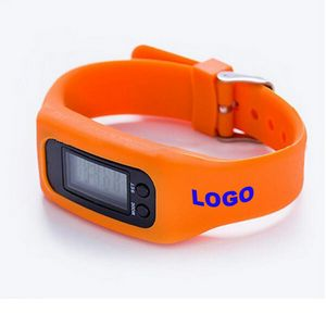 Digital Pedometer Watch