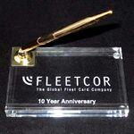 Custom Clear Acrylic Desk Pen Holder