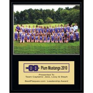 Players Photo Award Plaque - 8x10