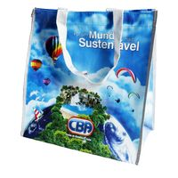 All Over Print Laminated Tote Bag GROCERY TOTE BAG