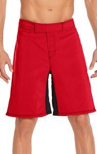 Mens Cross Training Short - Red
