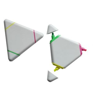 Triple Triangle Multi Color Highlighter Pen