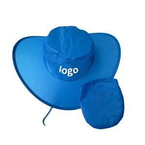 a0546dde0f633 Polyester Collapsible Cowboy Hat with Pouch - NS-KW197 - IdeaStage  Promotional Products