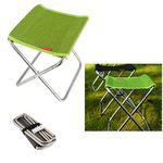 Custom Outdoor Fishing Camping Portable Stainless Steel Spring Folding Chair