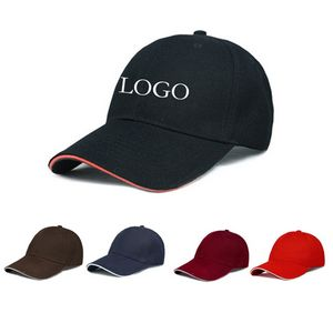 Sandwich Visor Unstructured Baseball Cap - NS-CZ039 - IdeaStage Promotional  Products c46b6530f51c