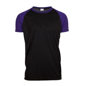 MVPDri Jersey Shirt w/ Contrast Color Raglan Sleeves
