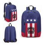 Custom U.S. Flag Laptop Backpack