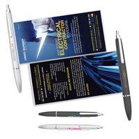Plastic Click Action Banner Pen