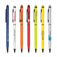 Slim Twist Action Metal Stylus Pen