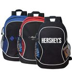 Custom Poly Deluxe Zippered Backpack