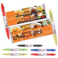 Plastic Click Banner Pen