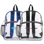Custom Clear Zipper Backpack
