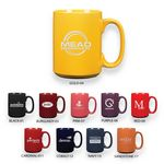 Custom 15 Oz. Ceramic Grande Coffee Mug