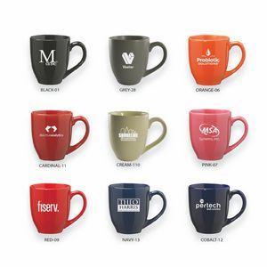 16 Oz. Ceramic Bistro Coffee Mug