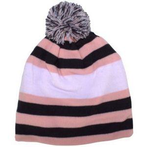 e77f6579b51 Toque Multi-Stripe Cap w Pom - K97POM - IdeaStage Promotional Products
