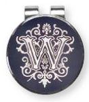 Custom Cloisonne Money Clip (Silver)