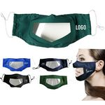 Custom Custom Mouth Visible Lip Reading Transparent Face Mask
