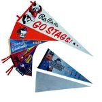 Full Color Imprint Premium Felt Pennant