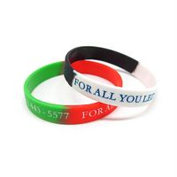 Two Color Silicone Bracelet