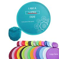 "10"" Polyester Custom Foldable Flying Disc w/ Storage Pouch"