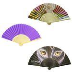 Custom Folding Paper Fan - One Side