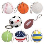 Custom Custom Stress Reliever Ball Key Chains