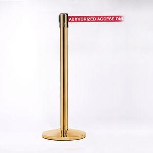 Brass Pole 11 W/ Heavy Duty Belt/Lock (2 Pack)