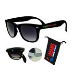 Foldable Sunglasses Black