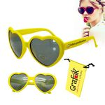 Love Sunglasses Yellow