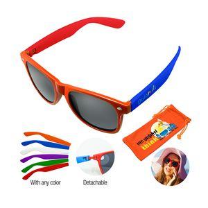 8b5bf5686ea Malibu Sunglasses - Orange - AG-SGAB-ORG - IdeaStage Promotional Products