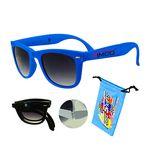 Foldable Sunglasses Blue