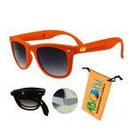 Foldable Sunglasses Orange