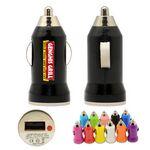 Bullet USB Car Charger (Black)