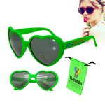 Love Sunglasses Green