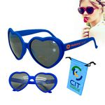 Love Sunglasses Blue