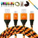 Custom Virgo Charging Cable Orange