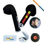 Custom Gemini Bluetooth Earbud Black